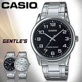 CASIO手錶專賣店 卡西歐  MTP-V001D 男錶  指針 數字 生活防水 礦物玻璃鏡面 不鏽鋼錶殼錶帶
