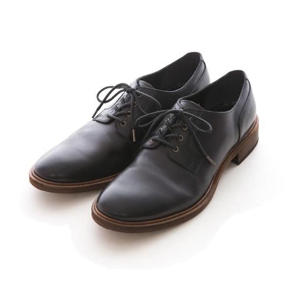 Vibram皮革鞋底德比紳士皮鞋#21342紳士黑 -ARGIS日本製手工皮鞋