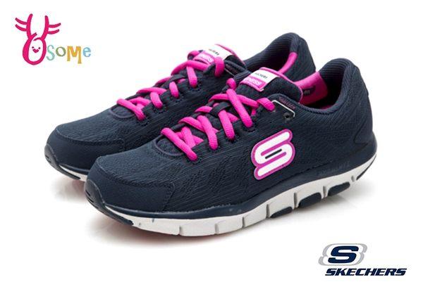 Skechers LIV SO SPACEY 女款 慢跑鞋 跑步系列 輕量 透氣 運動鞋 Q8281#藍桃◆OSOME奧森鞋業