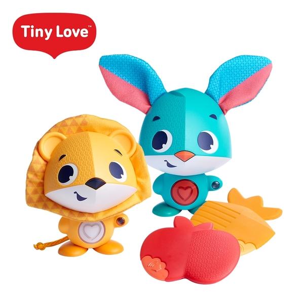 Tiny Love 美國互動學習玩偶 驚奇小夥伴系列 音樂玩具 安撫玩具 音樂鈴