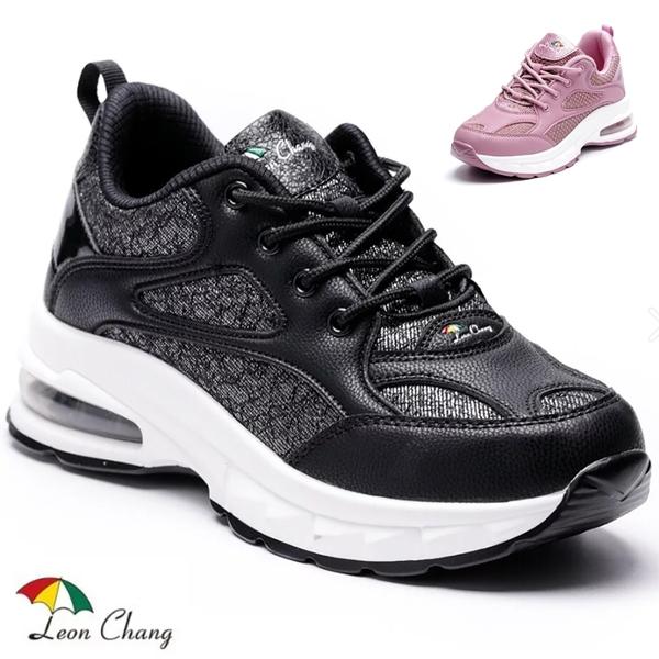 女款 Leon Chang 雨傘牌 7694 時尚佳人透氣運動鞋 氣墊鞋 增高鞋 厚底鞋 健走鞋 休閒鞋 59鞋廊