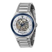 MASERATI 瑪莎拉蒂 質感三針鏤空機械腕錶43mm(R8823139002)