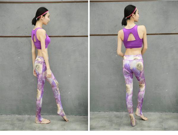 瑜伽服套裝春夏季速幹健身服長袖跑步運動服   - xby0024