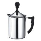 金時代書香咖啡 TIAMO 雙層奶泡杯 400ml 通過SGS檢測 HA1611