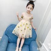 洋裝兒童連身裙蓬蓬紗公主裙