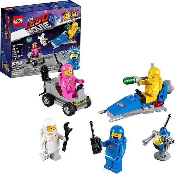 LEGO 樂高 THE MOVIE 2 Benny s Space Squad 70841(68件)