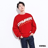 STAYREAL Campus寬版厚棉T
