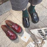 娃娃鞋 大頭鞋女韓版日系軟妹方扣百搭小皮鞋 艾米潮品館