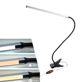 Esense USB鋁合金LED夾燈(銀)