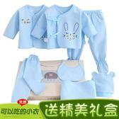 棉質嬰兒衣服夏季新生兒禮盒0-3個月6套裝春秋剛出生初生寶寶用品jy 【店慶八八折】