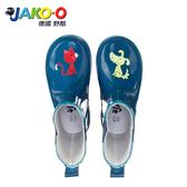 JAKO-O德國野酷-Lili&Rex 雨靴-深海藍