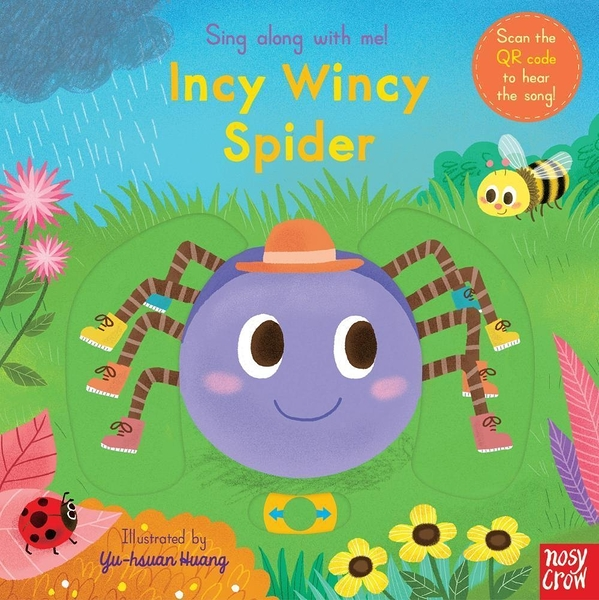 Sing Along With Me! Incy Wincy Spider 小小蜘蛛兒 童謠歌唱操作書(英國版)