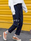 女性直筒褲女 褲子女直筒寬鬆韓版學生港風美式 珍妮寶貝