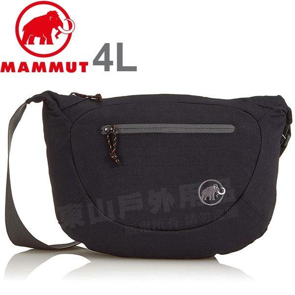 Mammut長毛象 2520-00570-00014黑 4L多功能休閒側背包 Shoulder Bag單肩包