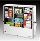 藥箱家庭用多層鋁合金箱超大號壁掛式藥品收...