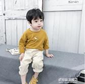 男童長袖上衣-棉小班男童長袖T恤春秋新款韓版寶寶圓領打底衫兒童洋氣上衣童裝 多麗絲