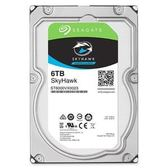 【綠蔭-免運】Seagate監控鷹SkyHawk 6TB 7200轉3.5吋 監控碟 (ST6000VX0023)