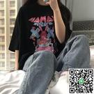 韓版純棉短袖T恤女學生寬鬆卡通上衣潮【小檸檬3C數碼館】