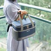 便當盒 加厚手提飯盒袋牛津布便當保溫袋 伊鞋本鋪