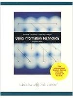 二手書博民逛書店 《Using Information Technology》 R2Y ISBN:0070184992│BrianK.Williams