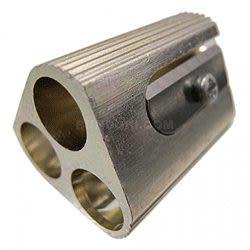 M+R鋁合金製削筆器(3孔)