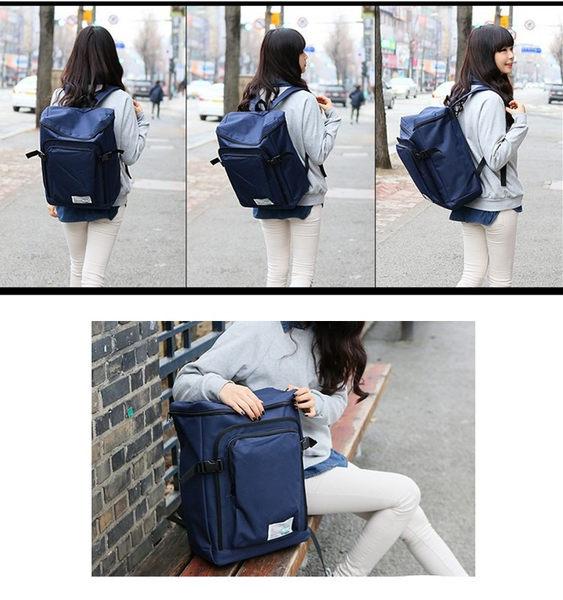 後背包-現貨販售-新款韓版純色大容量防水尼龍情侶包包(BB-235)寶來小舖Bolai shop