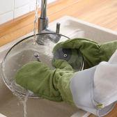 手套式抹布洗碗布家用魔術廚房防水不沾油抖音網紅女冬季洗碗神器 科炫數位