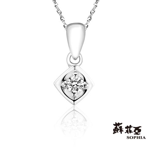 蘇菲亞SOPHIA - 浪漫滿屋0.05克拉鑽鍊