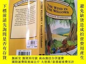 二手書博民逛書店the罕見wind in the willows :柳樹上的風Y200392