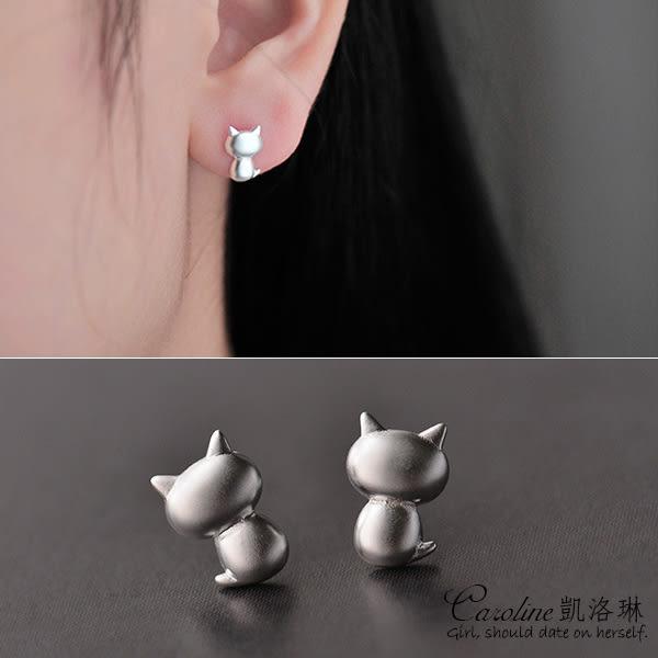 《Caroline》★【萌貓】時尚奢華.風格獨具.光彩亮麗時尚耳環68180