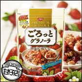 日本 日清 NISSIN 綜合 草莓 穀片 200g 健康 早餐 點心 無負擔 麥片 蛯原友里 小新 甘仔店3C配件
