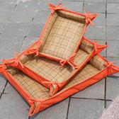 兩用涼席墊子夏天冰爽墊子可折疊涼席狗窩泰迪寵物夏季狗窩LG-22887