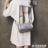 斜背包迷你包包新款印花枕頭包時尚百搭寬帶少女單肩斜挎包 快意購物網