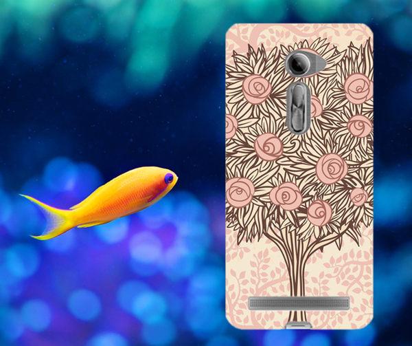 ♥ 俏魔女美人館 ♥ ASUS 華碩5吋 Zenfone 2 /ZE500CL {愛情樹*水晶硬殼} 手機殼 手機套 保護殼