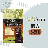 AvoDerm愛酪麗[火雞肉體重管理,無穀成犬糧,24磅,美國製](免運)
