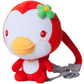 【奇買親子購物網】藍色企鵝 PUKU Petit 企鵝防走失背包