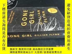二手書博民逛書店GONE罕見GIRL GILLIAN FLYNN5919