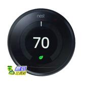 [8美國直購] 溫控器( Google Nest Learning Thermostat (Black) - Works With the Google Assistant A1140842