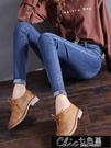快速出貨 褲子高腰牛仔褲女裝新款年春季女褲緊身百搭修身小腳褲子【全館免運】