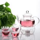 精品玻璃茶具配保溫爐