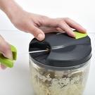 多功能絞肉機家用手動絞菜絞餡料理機手拉式小型攪蒜器蒜泥碎菜機ATF 夢幻小鎮