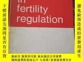 二手書博民逛書店recent罕見advances in fertility re