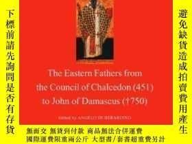 二手書博民逛書店Patrology:罕見The Eastern Fathers From The Council Of Chalc