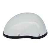 夏季電動車騎行半盔男女機車復古哈雷頭盔個性輕便安全盔機車帽