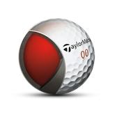 高爾夫球 泰勒梅Taylormade高爾夫球Aeroburner pro三層球12粒裝爆髮力球速   城市科技DF
