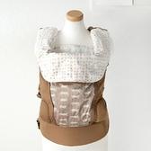【日本 Hoppetta】日本製小蘑菇揹巾環繞墊-白