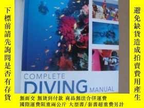 二手書博民逛書店Complete罕見Diving Manual,潛水( 好,精裝