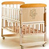 搖籃嬰兒床實木寶寶床可折疊多功能bb新生兒童拼接大床無漆小搖床 「爆米花」