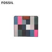 FOSSIL Emma 網路獨家花色 彩色電視機RFID輕便短夾 #小巧好攜帶