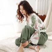 月子服韓版孕婦睡衣春秋季月子服純棉夏季產後薄款餵奶哺乳衣寬鬆家居服 嬡孕哺